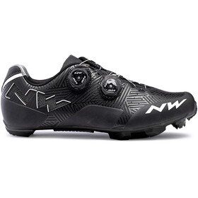 Northwave Rebel Chaussures Homme, black/white